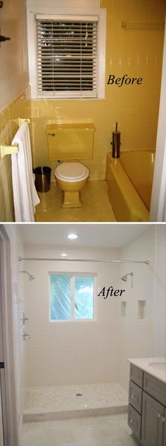 before and after 20 awesome bathroom makeovers bathroom remodel smallsmall