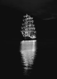 ships in the night.