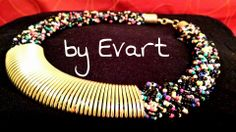 No hace falta viajar a destinos tan exóticos como Kenya o Tanzania para adquirir este collar étnico! Os presento la Gargantilla Kenya by Evart!