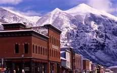 Telluride is a lot like Leadville. Small mining town that went bust. Beautiful country and tourist places.