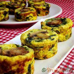 Finger Food Appetizers, Finger Foods, Appetizer Recipes, Quiche Muffins, Jacque Pepin, Vol Au Vent, Good Food, Yummy Food, Quiche Lorraine