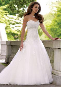 David Tutera for Mon Cheri 113231 Goldie Wedding Dress - The Knot