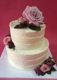 tarta buttercream rayada Cake, Desserts, Food, Pastries, Tailgate Desserts, Deserts, Kuchen, Essen, Postres