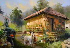 Pierre Bonnard, Mary Cassatt, Henri Matisse, Vincent Van Gogh, House Landscape, Traditional Paintings, Beautiful, House Styles, Photography