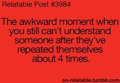 Uhh... Awkward ❤️