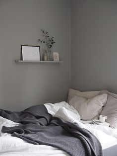 Grey bedroom inspiration Farrow 038 Ball Lamp Room Grey Getting the guest bedroom ready an Emma matt Guest Bedroom Decor, Room Ideas Bedroom, Gray Bedroom, Guest Bedrooms, Grey Bedroom Colors, Grey Room Decor, Grey Bedroom Design, Next Bedroom, Modern Bedrooms