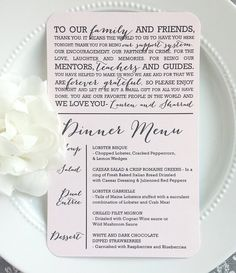 Check out this item in my Etsy shop https://www.etsy.com/listing/230957576/wedding-menu-and-thank-you-style-mty17