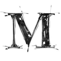 Illustration about Alphabet symbol - grunge hand draw paint. Illustration of design, isolated, splash - 4821744 Typography Inspiration, Typography Design, M Symbol, Grunge, Alphabet Symbols, Alphabet Soup, Photo Letters, Creative Lettering, Creative Writing
