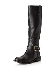 4fa863eea898 Vince Camuto Women s Kabollans Tall Buckle Boot (Black) Buckle Boots