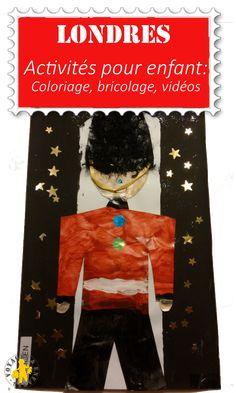 Coloriages, bricolages, vidéos pour découvrir Londres et l'Angleterre