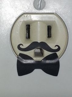 Mustache and Bowtie outlet Decals by SuperModCustomZ on Etsy, $3.50