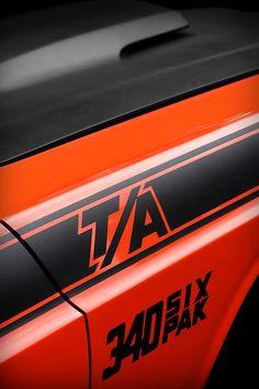 Orange 1970 Challenger T/A - by Gordon Dean II