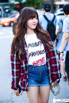 AOA Chanmi - Born in South Korea in 1996. #Fashion #Kpop