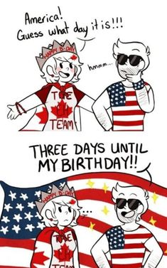 Can someone draw America giving Canada a mating press please - iFunny :) Hetalia, Happy Canada Day, Happy B Day, Mundo Comic, Bubbline, History Memes, Country Art, Stupid Funny Memes, Funny Gifs