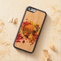 Thanksgiving Cornucopia Carved® Cherry iPhone 6 Bumper Case