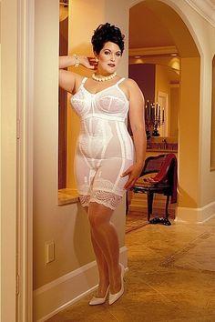 Girdle Love Vintage Lingerie, Women Lingerie, Vintage Girdle, Girdle Girls, Nylons, Full Figure Dress, Secret In Lace, Full Figured Women, Sexy Older Women