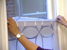 How to Frost Glass Windows : Decorating : Home & Garden Television