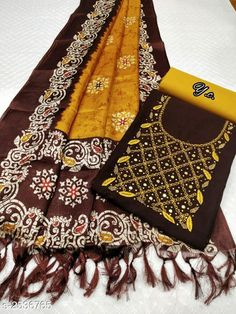 Suits & Dress Materials Gorgeous Suits & Dress Material *TOP*: Slub Cotton + Embroidery & Mirror Work(2.0 Mtr) *BOTTOM*: Cotton + Solid (2.0 Mtr) *DUPATTA*: Silk + Printed (2.0 Mtr) *TYPE*: Un-Stitched *COLOUR*: Multi-Colour *CONTAINS*: 1 TOP 1 BOTTOM & 1 DUPATTA Country of Origin: India Sizes Available: Un Stitched, Semi Stitched Catalog Rating: ★4 (1299) Catalog Name: Aaryahi Gorgeous... Latest Kurti Design  45:54 NOW PLAYING GURU NANAK JAYANTI SPECIAL   DHAN GURU NANAK   SHABAD GURBANI   JUKEBOX   T-SERIES   YOUTUBE.COM/WATCH?V=UJX5SGNL9YU #EDUCRATSWEB