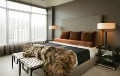 20 chic masculine bedrooms - The Grey Home