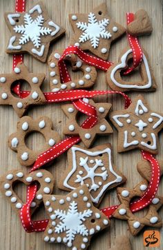 Christmas Traditions: Special tasks carried out during Advent in Poland are the baking of the Christmas piernik or honey cake, and the making of Christmas decorations. Pierniki are made in a great variety of shapes, including hearts, animals and St Nicholas figures (follow the link for a lovely recipe). Traditional decorations include the pajaki, stars and decorated egg shells.