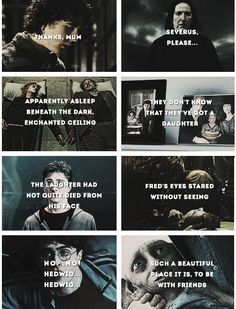 harry potter - the saddest scenes