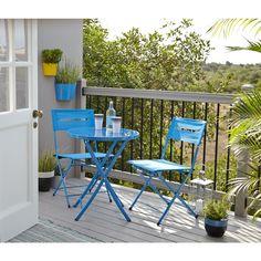 small bistro set balcony - Google Search