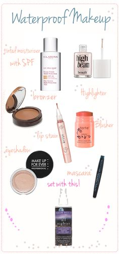 Whether you're jumping into a pool, melting in the summer heat, or getting caught in a winter rainstorm, these waterproof makeup products have got you covered. Jennie from The Beauty Pin is b…