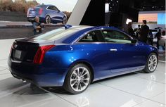 2015 Cadillac ATS Coupe Back Side View