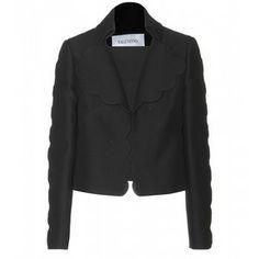 Valentino Wool And Silk-Blend Jacket