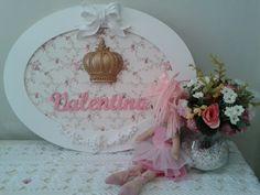 Porta Maternidade Princesa Valentina