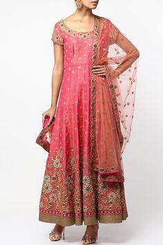 Pink aari work anarkali set.  #carma #shopitatcarma #carmaloves #instadaily #fashiondaily #fashionupdates #instafollow #luxury #floral #indianfashion #musthave #sagegarden #diwaliedit #diwalispecial #ethnic #kurtasets #anarkalis #getthislook #shopping #shopnow #onlineshopping #festive #elegant #madetoorderdress #Pink #silkanarkali #designeranarkali #designersuitsonline #indiansuitsonline #pinkanarkali #kylee