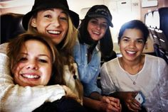 Blake Lively is still BFFs with her Sisterhood of the Traveling Pants co-stars