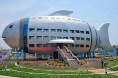 Best Animal Shaped Buildings - Fish Shaped