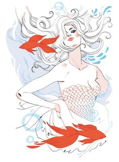 Pisces by Marguerite Sauvage.