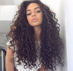 Hairstyles for Long Naturally Curly Hair