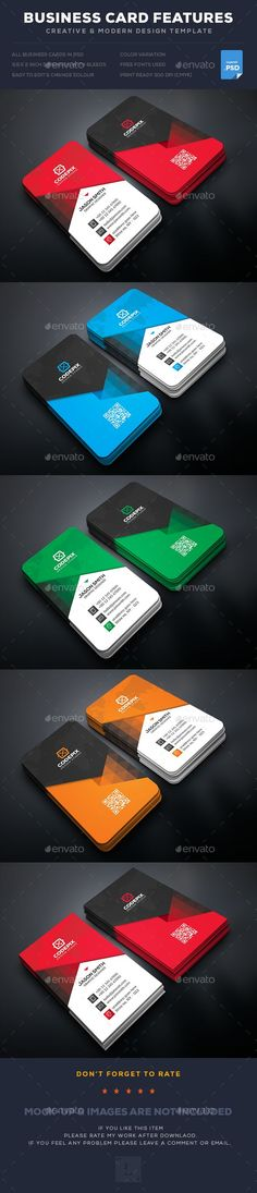 Business Card Template PSD. Download here: https://graphicriver.net/item/business-card/17460804?ref=ksioks