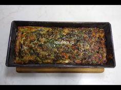 Drob vegetarian cu linte si ciuperci - YouTube Meatloaf, Banana Bread, Vegetarian Recipes, Beef, Paste, Desserts, Recipes, Meat, Tailgate Desserts