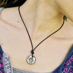 Dog Paw Necklace   #Dog #DogMonth #necklace #jewelry #cowgirljewelry  http://www.islandcowgirl.com/