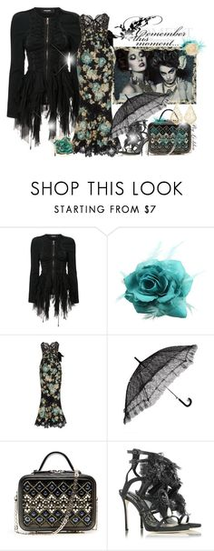 """""""~Remember this moment...~"""" by li-lilou ❤ liked on Polyvore featuring Dsquared2, Marchesa and Kendra Scott"""