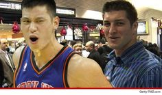 Let's hope Jeremy Lin and Tim Tebow don't become besties
