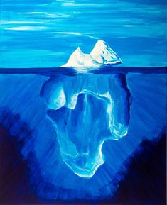 Original Seascape Painting by Florian Bubner Ice Painting, Painting Canvas, Canvas Art, Frozen Musical, Original Paintings, Original Art, Sea Ice, Mountain Paintings, Photorealism