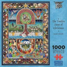 Tailten Games - The Twelve Days of Christmas 1000 Piece Puzzle