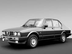Alfa Romeo Alfetta 2.0i Quadrifoglio (1983)