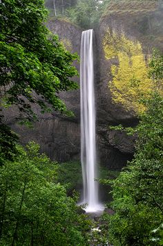 Latourell Falls, Oregon..I want to go here one day.Please check out my website thanks. www.photopix.co.nz