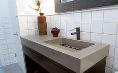 Custom Concrete Bathroom Sinks - Trueform Concrete