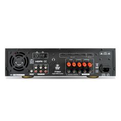 Home Audio Amplifiers - 5.1 Channel Home Theater AV Receiver, BT Wireless Streaming (HDMI & 3D HDTV Pass-Through)