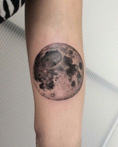 The moon by Pol tattoo