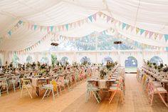 9 schöne Dekotipps für rustikale Hochzeiten