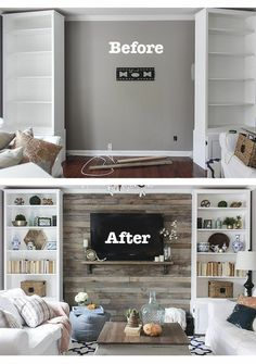 Terrific Driftwood Shiplap idea!