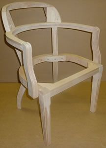 Delicieux Court Chair Frame